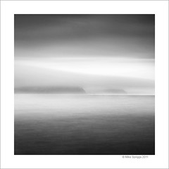 Lyme Bay 02 (Mike. Spriggs) Tags: longexposure bw mist coast cliffs lymeregis lymebay nd10