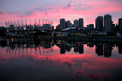 Ever Changing Colors (johnshlau) Tags: sunset sky canada colors vancouver reflections stadium pinksky bcplace downtownvancouver fierysky sportsvenue creeksidepark colorsofthesky entertainmentvenue beautifulvancouver mygearandme mygearandmepremium mygearandmebronze mygearandmesilver mygearandmegold mygearandmeplatinum mygearandmediamond rogerarena rememberthatmomentlevel1 everchangingcolors everchangingcolorsofthesky bestevercompetitiongroup bestevergoldenartists besteverdigitalphotography