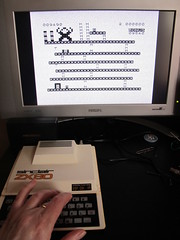 ZX81 Kong on Sinclair ZX80 (Rain Rabbit) Tags: game computer kong sinclair zx81 zx80