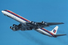 N8079U United DC-8-61 at KCLE (GeorgeM757) Tags: classic airport united cleveland flight douglas takeoff hopkins clevelandhopkins mcdonnell dc8 cle kcle dc861 n8079u