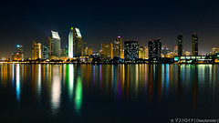 San Diego [Explored 02/09/12 + Front Page] (Eddie 11uisma) Tags: california travel vacation night canon san long exposure cityscape diego 5d coronado