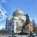 The Naval Сathedral of Saint Nicholas in Kronstadt. Морской Собор а Кронштадте.