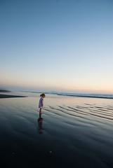 enchanted (Le Fabuleux Destin d'Amlie) Tags: ocean autumn sea newzealand beach water girl sunshine weather kids children island evening toddler child play weekend southpacific aotearoa daydream enchanted kapiti waitarere cins