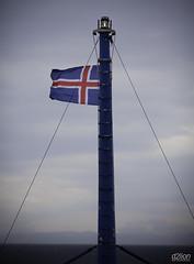 BREAFJRUR (euskadi 69) Tags: ocean mountains landscape atlantic paysage montagnes drapeauislandais iceland2011 traversedufjordbreafjrurenferry islandicflag
