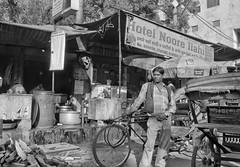 Hotel Noore Ilahi - D7K 1294 ep (Eric.Parker) Tags: street blackandwhite bw india monochrome africanamerican jaipur 2012 2011 ilahi noore