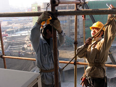 Construction workers at a building site (World Bank Photo Collection) Tags