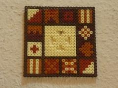 Geometrische Muster (petuniad) Tags: beads hama perler prlplattor hamabeads perlerbeads strijkkralen bgelperlen buegelperlen