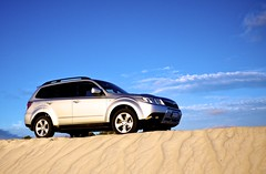 Forester at Lancelin (Krav Man) Tags: car sand 4x4 dunes 4wd subaru suv forester lancelin
