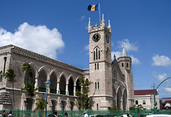 Bridgetown Parliament Building (dcnelson1898) Tags: family tower island day tour flag parliament barbados caribbean bridgetown parliamentbuilding norwegiandawn norwegiancruiselines governmant pwpartlycloudy