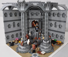 Room of Requirement - Hideout mode (Si-MOCs) Tags: community lego harrypotter build hogwarts roomofrequirement eurobricks
