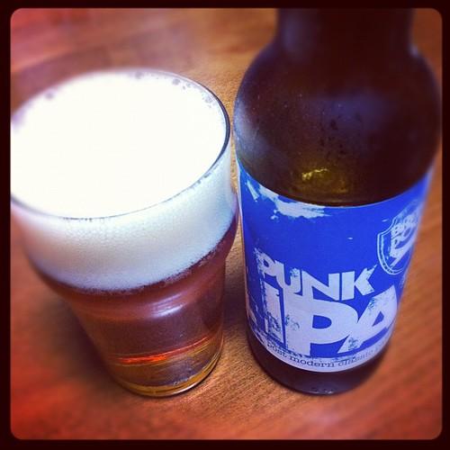 PUNK IPA。爽やか!苦味も良いい感じ!麦酒男的ビールアワードに納得!