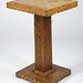 261. Folk Art Checkerboard Stand