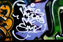 THIS KEEPS ME SANE (SPEAR1X) Tags: street art me canon this los angeles socal keeps sane