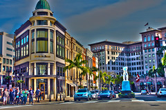 Rodeo Drive (Jess Walters) Tags: california drive la losangeles hills rodeo beverly lax hdr rodeodrive