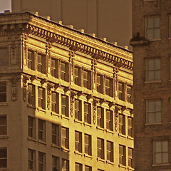Corner Glow (FotoEdge) Tags: windows winter light sunset usa corner ancient glow afternoon details historic kansascity missouri kc 20thcentury offices kcmo 2012 relic fotoedge bobtravaglione