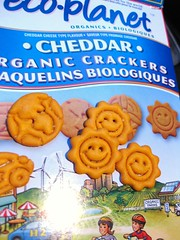 Cheese Crackers // Eco-Planet (Sarah Scheffer) Tags: orange sun cheese vegan box delicious packaging snacks organic cheesy crackers cheddar snacking nondairy ecoplanet