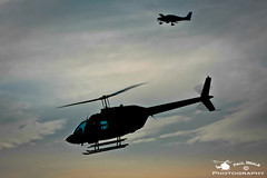G-HANY (Paul Beale Photography) Tags: silhouette helicopter staverton bell206 jetrangeriii rotatingwings ghany gloucestershireairport artyfartyaviation