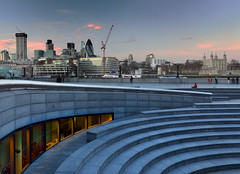 London (Stephen Laverack) Tags: city blue london skyline dusk curve scoop