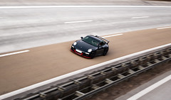 Don't look back EXPLORED (toffi:xc) Tags: autobahn panning blackred porscheturbo