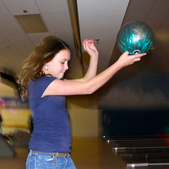 bowling ball - this looks more peaceful than it really was