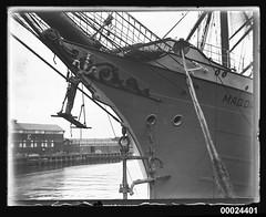 MAGDALENE VINNEN docked in Woolloomooloo, March 1933