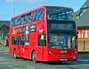 First London . First Capital East . DN33626 SN11BNV . Selborne Road , Walthamstow , London . Saturday 25th-February-2012 . (AndrewHA's) Tags: bus first londonunderground alexander dennis walthamstow centralline londonbus trident dn tfl adl lul firstcapital alexanderdennis firstlondon enviro400 railwayreplacement 33626 sn11bnv