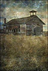 No School Anymore (Bob R.L. Evans) Tags: west art abandoned vintage longevity wyoming