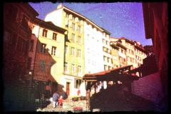 Lausanne Escaliers du Marché 1999
