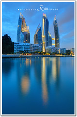 Singapore : Reflections at Keppel Bay Condominium - water reflection (fiftymm99) Tags: house reflection building water bay nikon singapore property condominium residental keppel nikond300 fiftymm99 gettyimagessingaporeq2 reflectionatkeppelbay