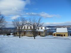 La Maison de nos Aeux (tumitaittuq) Tags: trees winter sky snow clouds landscape quebec hiver