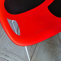 the hot seat (msdonnalee) Tags: red rot rouge rojo chair furniture vermelho silla rosso sedia chaise stuhl cadeira redchair  rd  punainen    takealoadoff   colorphotoaward artlegacy