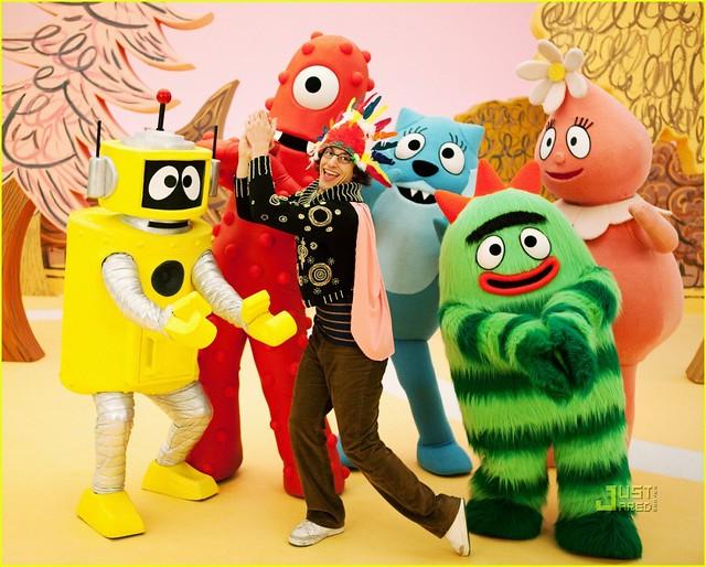 小朋友的偶像yo Gabba Gabba 玩具人toy People News