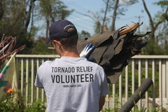 Shingles (All Hands Volunteers Photobank) Tags: chainsaw disaster volunteer tornado recovery westernmassachusetts stihl voad allhandsvolunteers projectspringfield