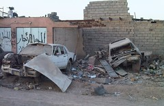 Broken up Cars, Basra, Iraq