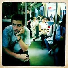 En el metro (David Herranz) Tags: underground metro tube subte pblico transporte davidherranz