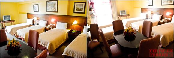 Deluxe Family Room in Hotel Elizabeth Baguio