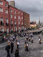 Marching Mizzou, also known as the Big M of the Midwest - St. Patrick's Day 2012 (infomatique) Tags: ireland dublin europe parade stpatricksday 2012 stpatricksfestival streetsofdublin infomatique photographedbywilliammurphy stpatricksfestival2012 infomatiquepatricksday2012