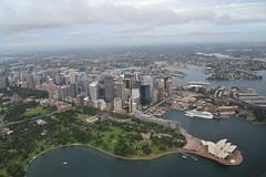 Sydney Harbour, NSW, AUSTRALA. DSC_0094 (paulhypnos) Tags: zoo air sydney australia fromabove nsw beaches operahouse harbourbridge sydneyharbour botanicgardens kuringgaichasenationalpark