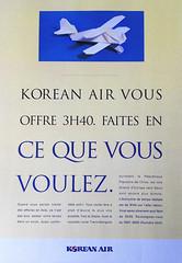 Origami création - Didier Boursin - Korean Air