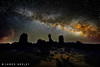 Star Power (James Neeley) Tags: landscape utah astrophotography moab nightsky archesnationalpark f12 milkyway lowlightphotography jamesneeley