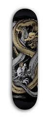 Double Dragon Skateboard Graphics (shaire productions) Tags: two urban art animal illustration asian japanese design artwork graphics asia dragon graphic drawing duo traditional chinese arts culture twin style dragons illustrative creation skateboard dual draw drawn oriental creatures creature myth cultural stylish mythos intertwined mythological