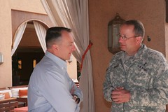 Marine commanders meet with Utah National Gaurd adjutant general (african lion 2012) Tags: usmc utah texas agadir morocco fortworth africanlion nationalgaurd mairnecorps marineforcesafrica 14thmarineregiment