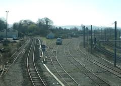 Etaples (62) - Les voies vers Abbeville (gueguette80 ... Définitivement non voyant) Tags: france french gare eisenbahn railway trains sncf pasdecalais etaples