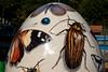 Beetle Bug (Jocey K) Tags: autumn newzealand christchurch art painting egg bugs beatles butterflys giantegg botanicgradens whittakersbigeasteregghunt