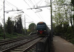 LINEA S5 DIREZIONE TREVIGLIO (Bruno Viganò) Tags: train railway s stazione treno dei linea treni dadda cassano trenord