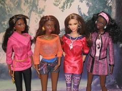 So in style (mydollfamily) Tags: kara marisa barbie grace sis fashiondoll mattel chandra soinstyle