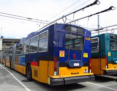 King County Metro Breda Trolley 4206 (zargoman) Tags: seattle county travel bus electric king metro trolley transportation transit converted breda articulated kiepe elektrik kingcountymetro highfloor