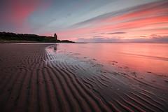 Greenan Shore (Ian McClure) Tags: sunset castle scotland pentax ayr ayrshire greenan