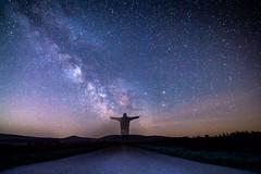 Milky Way (MSPhotography-Art) Tags: nature clouds germany stars landscape deutschland spring nacht outdoor natur landschaft springtime frhling milkyway badenwrttemberg schwbischealb swabianalb milchstrase schwbsichealb