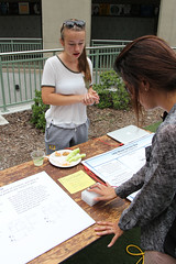 PZ20160513-027.jpg (Menlo Photo Bank) Tags: ca people food woman usa lauren students girl sign us spring quad science event staff smallgroup atherton 2016 engaging upperschool makerfaire menloschool photobypetezivkov appliedscienceresearch